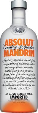Absolut Mandarino Vodka - The Absolut Company - Vodka Svezia