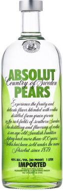 Absolut Pera Vodka - The Absolut Company - Vodka Svezia
