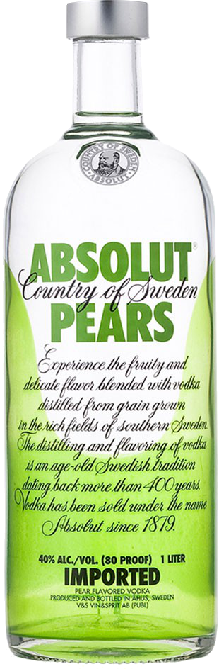 Absolut Pera Vodka - The Absolut Company - Vodka Svezia