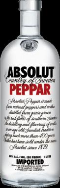Absolut Peppar Vodka - The Absolut Company - Vodka Svezia