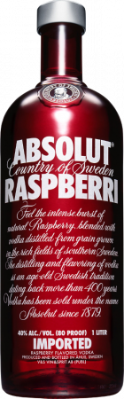 Absolut Raspberry Vodka - The Absolut Company - Vodka Svezia