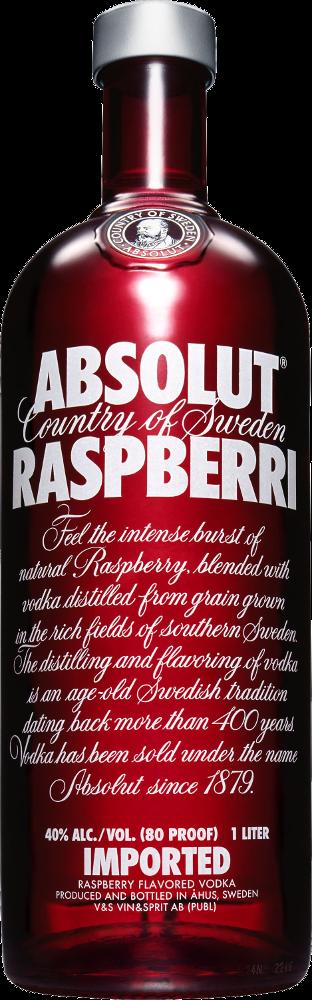Absolut Raspberry Vodka - The Absolut Company - Vodka Svezia