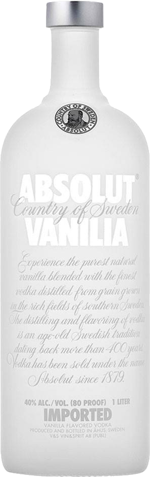 Absolut Vanilla Vodka - The Absolut Company - Vodka Svezia