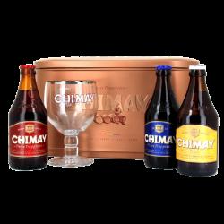 Scatola Regalo di Latta Chimay - Biere de Chimay - Birra Belgio