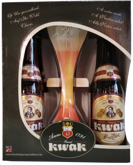 Scatola Regalo Birra Kwak - Browerij Bosteels - Birra Belgio