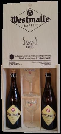 Scatola in Legno Westmalle - Browerij Van Westmalle - Birra Belgio