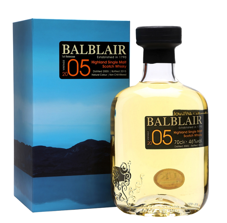 Balblair Vintage 2005 - Balblair Distillery - Whisky Scozia