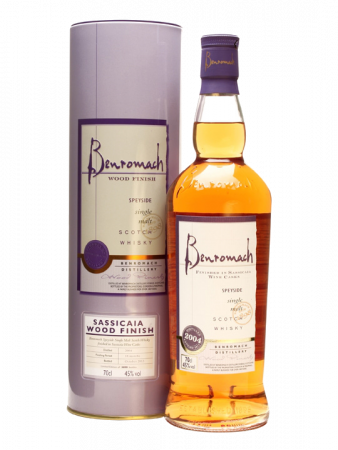 Benromach Sassiacaia Wood Finish - Benromach Distillery - Whisky Scozia