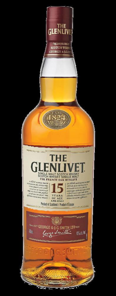 The Glenlivet 15y - Glenlivet Distillery - Whisky Scozia