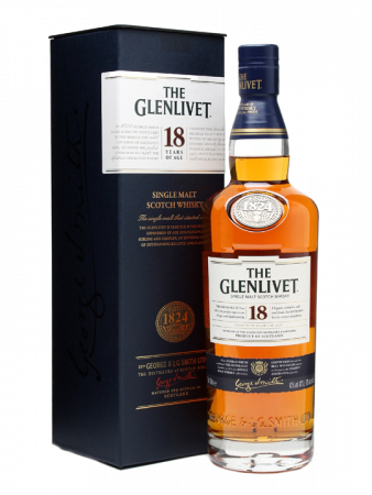 The Glenlivet 18y - Glenlivet Distillery - Whisky Scozia