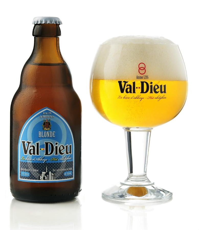Val Dieu Blonde cl33 - Brasserie de l'Abbaye du Val Dieu - Birra Belgio