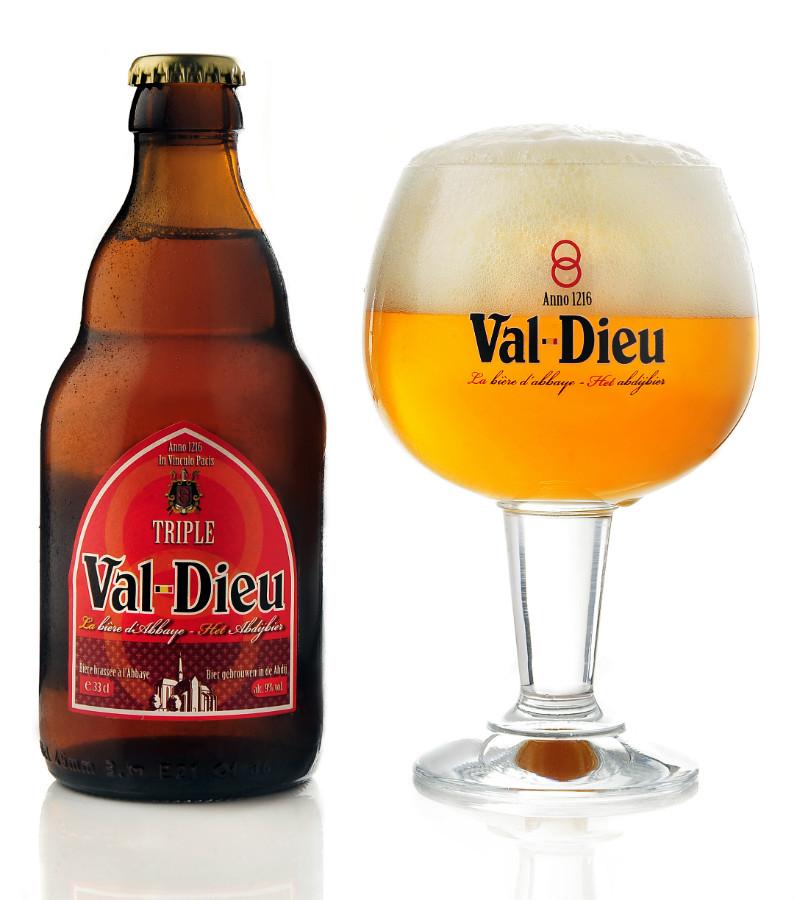 Val Dieu Tripel cl33 - Brasserie de l'Abbaye du Val Dieu - Birra Belgio