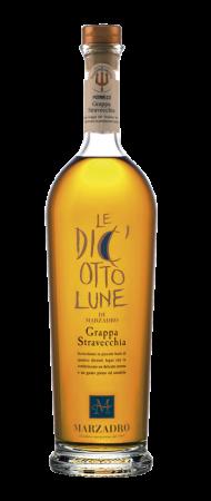 Grappa Marzadro Le Diciotto Lune 70cl - Distilleria Marzadro - Grappa Italia