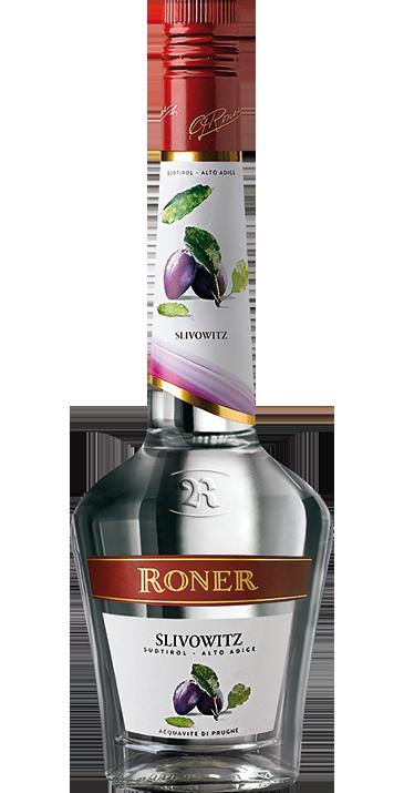 Grappa Roner Slivowitz (Prugna) 70cl - Distilleria Roner - Grappa Italia