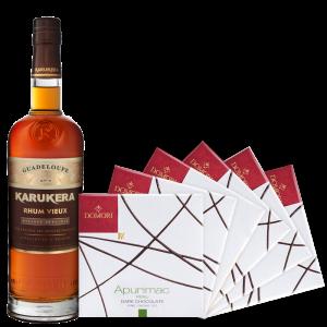 Rum Karukera Reserva Speciale + Cioccolato Artigianale Do Mori - Sas Marquisat de Sainte-Maire - Rum Guadalupe