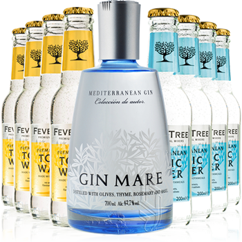 Gin Mare + Tonica Fever Tree - Gin Mare - Gin Spagna