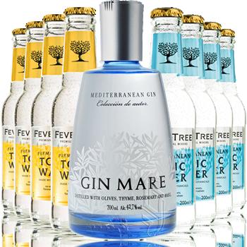 Gin Mare + Tonica Fever Tree - Gin Mare - Gin Spagna