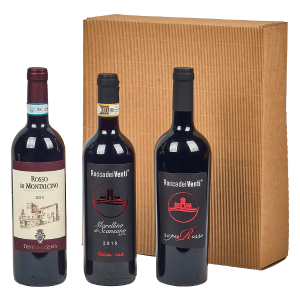 Cesta Natalizia : 143 Vini Toscana -  -
