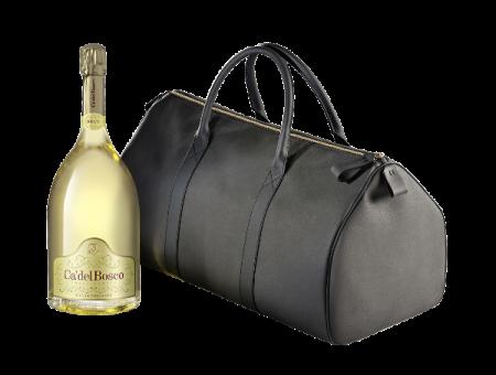 """Franciacorta Docg Brut """"Cuvèe Prestige"""" + Weekend Bag 3lt - Ca del Bosco - Vino Lombardia"""