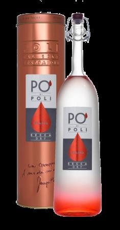 Grappa Un Po' Secca Merlot 70cl - Distilleria Poli - Grappa Italia