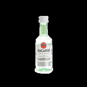Mignon Bacardi Rum cl5 -  -