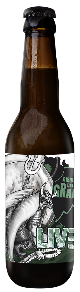 LiveD - Quadrupel 33cl - Birrificio della Granda - Birra Italia