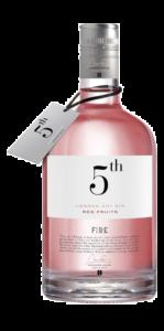 Gin 5th Fire Red Fruits 70cl - Destilleries del Maresme Brands - Gin Spagna
