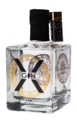 Gin X Gin cl50 - De Moor Distillery - Gin Belgio